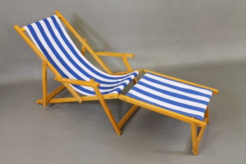 wooden footstool beach chair