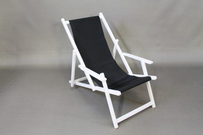 beach chair modern black white