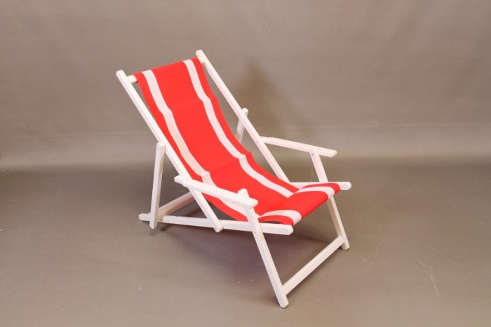 Deckchair strandstoel zomer