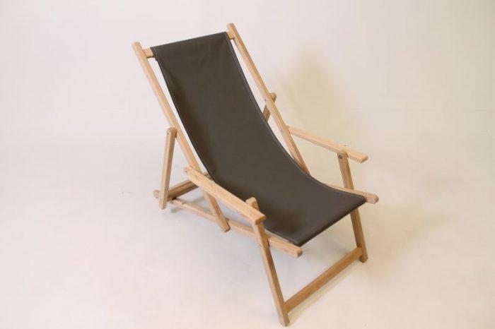 houten opklapbare strandstoel