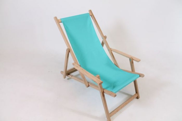 houten opvouwbare strandstoel