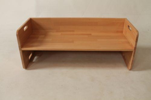 houten kubusstoeltje