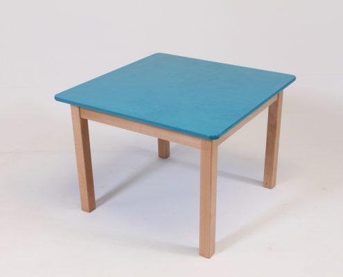 houten kindertafel vierkant