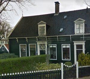 Kozijnen houten huis Oostzijde Zaandam